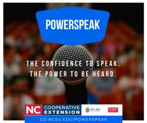 Cover photo for PowerSpeak Now Open for Registration!