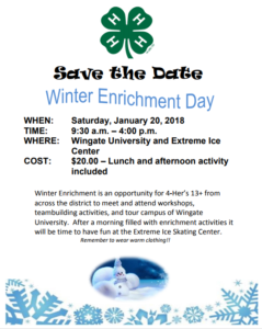 Cover photo for 4-H Winter Enrichment