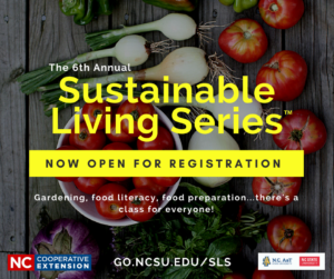 Cover photo for 2018 Sustainable Living Series!