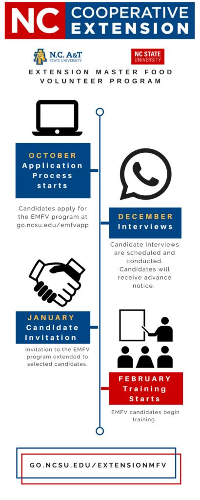 EMFV application process diagram