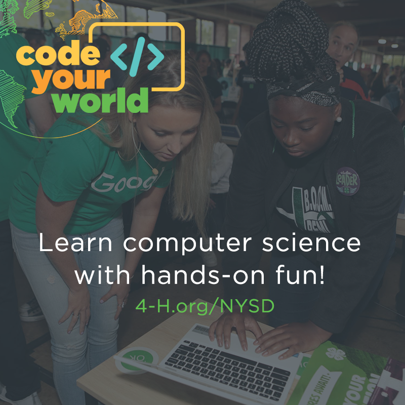 Code Your World flyer image