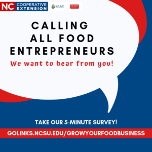Cover photo for Calling All Food Entrepreneurs!
