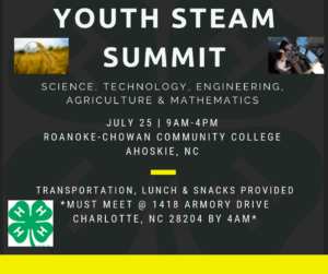 Cover photo for 4-H Summer: STEAM Summit