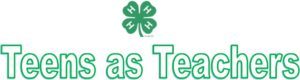 Cover photo for 4-H Teens as Teachers