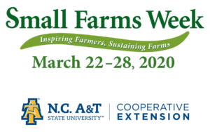 Small Farms Week logo image