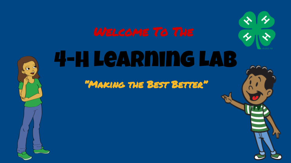 4-H Learning Lab header image