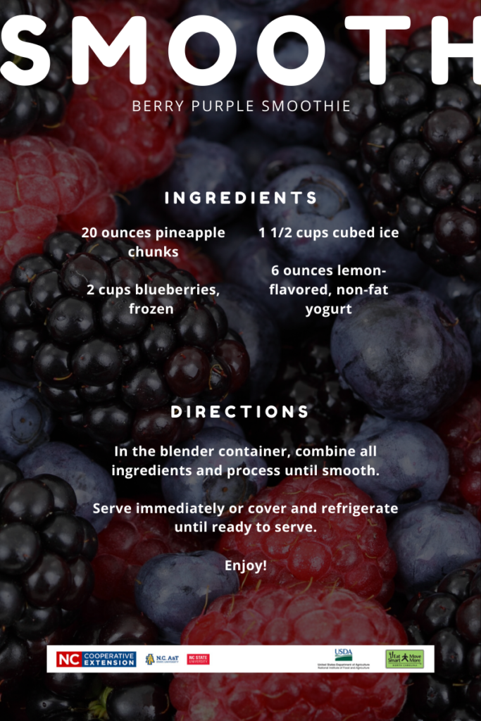 Smoothie flyer image