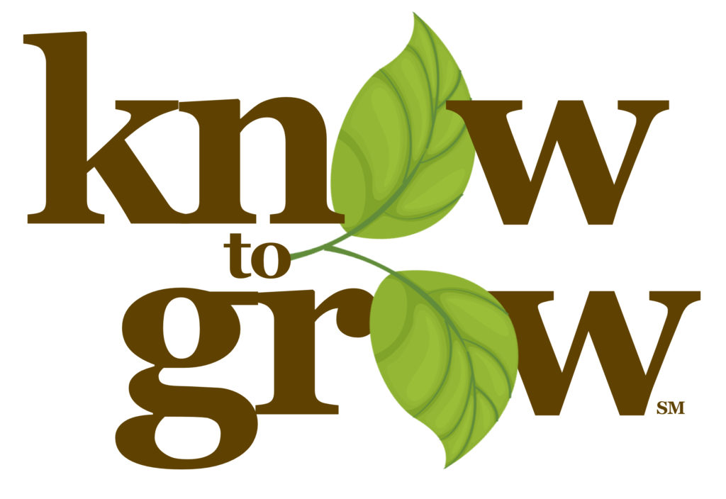 Know to Grow logo