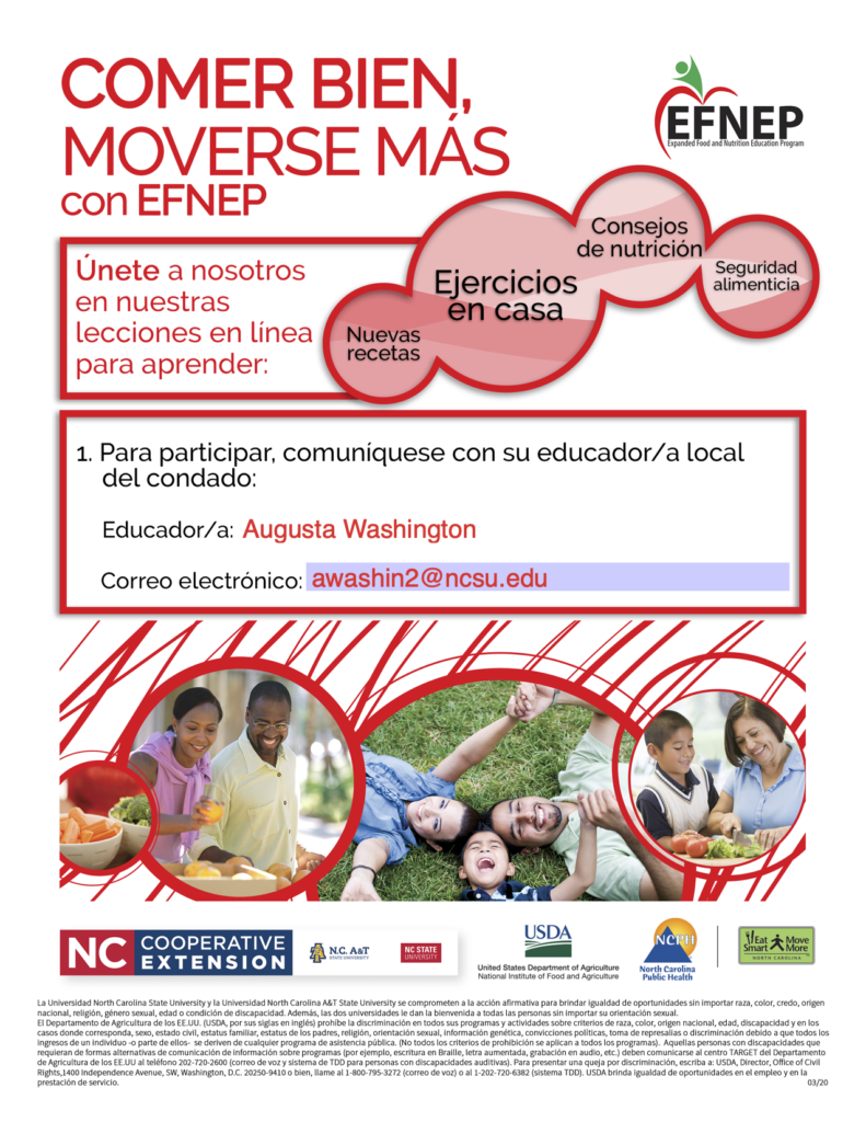 New adult online flyer spanish
