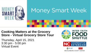 Cover photo for Cooking Smart at the Grocery Store- Virtual Grocery Store Tour