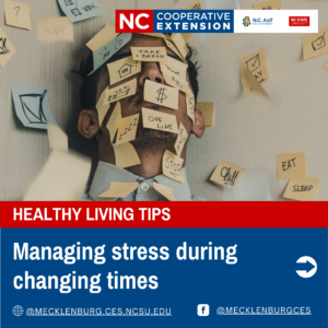 Cover photo for Managing Stress in Changing Times